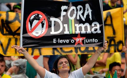 Contra el Gobierno, el PT y la corrupción: qué expresan las protestas del 15M en Brasil