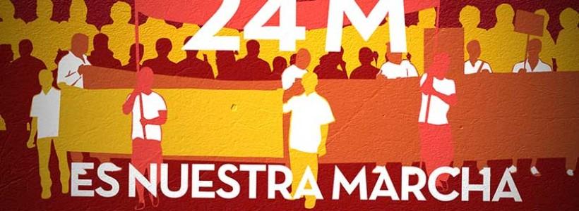 El 24M es nuestra marcha