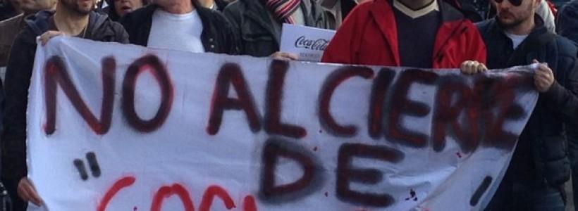Trabajadores de Coca Cola Fuenlabrada