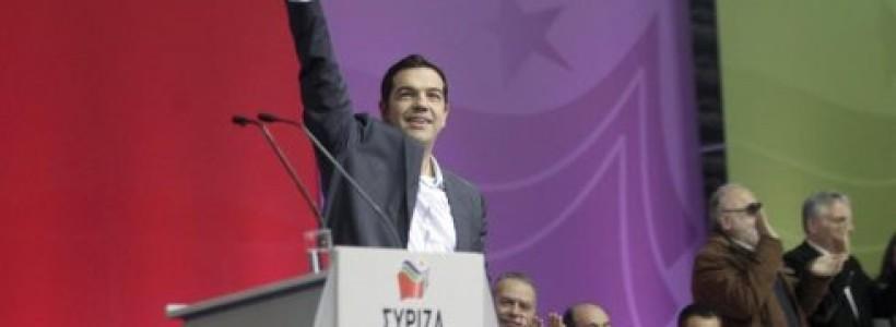 Campaña electoral en Grecia