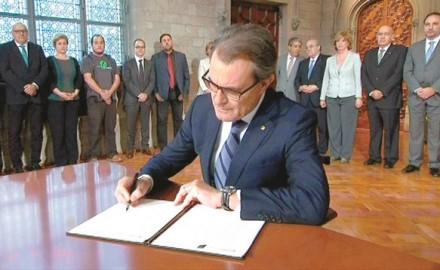 Artur Mas, Consulta cataluña, david fernandez