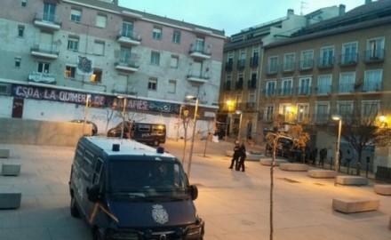 Detención anarquistas represión