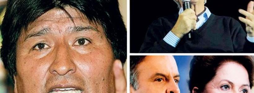 Elecciones Brasil, Uruguay y Bolivia