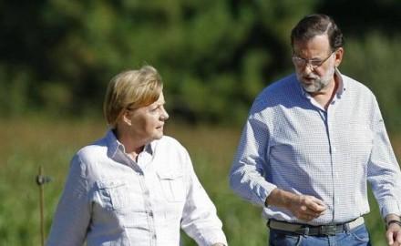 Sintonía entre Merkel y Rajoy para las