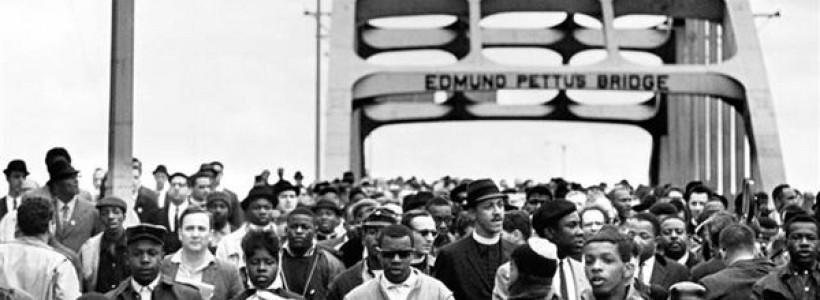 La marcha de Selma en Estados Unidos contra la opresión racial