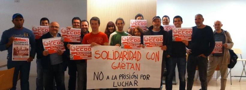 """Tercer encuentro de """"Ganemos CCOO"""" en Barcelona"""