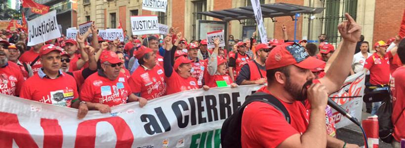 """La reapertura de Coca-Cola Fuenlabrada """"es una trampa"""", denuncian los trabajadores"""
