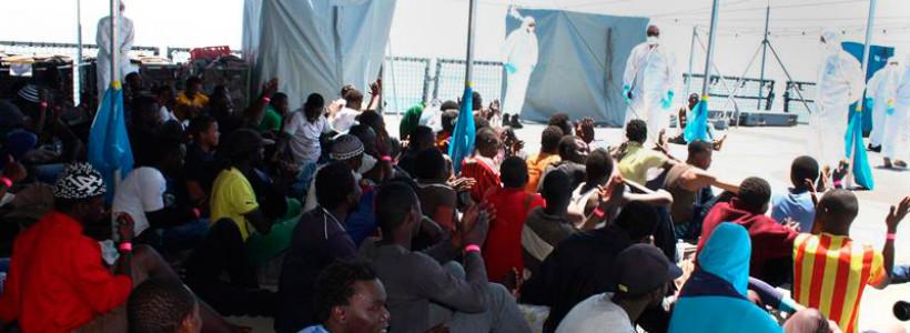 """""""Cuotas"""" para los refugiados y mano dura para los sin papeles"""