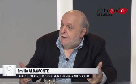 Entrevista a Emilio Albamonte / Conferencia internacionalista en Buenos Aires