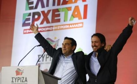 Podemos da su apoyo a Tsipras y la espalda al pueblo griego