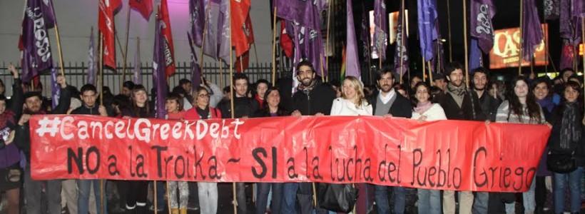 El gobierno de Syriza reprime a los que luchan contra el ajuste