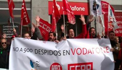 Vodafone se propone despedir a 1300 trabajadores en el Estado español