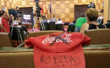Zaragoza en Común incumple su apoyo a los trabajadores de Coca-Cola