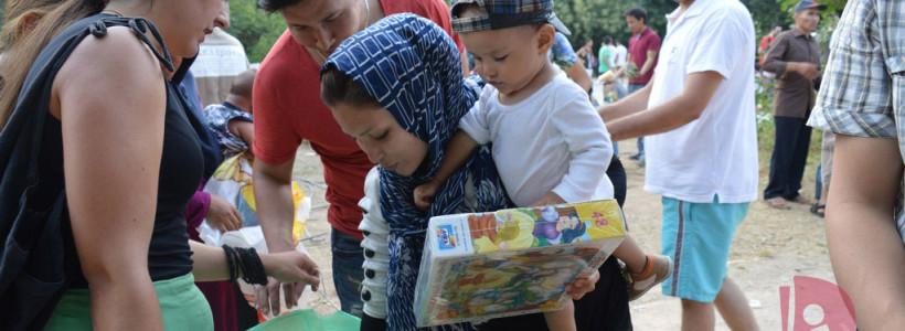 La desesperada odisea de los refugiados en Grecia