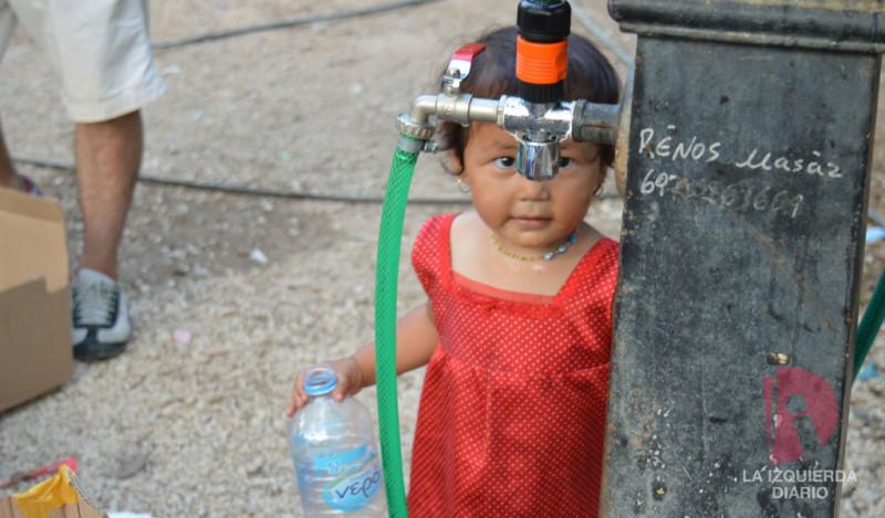 Galería de imágenes campamento de refugiados en Atenas