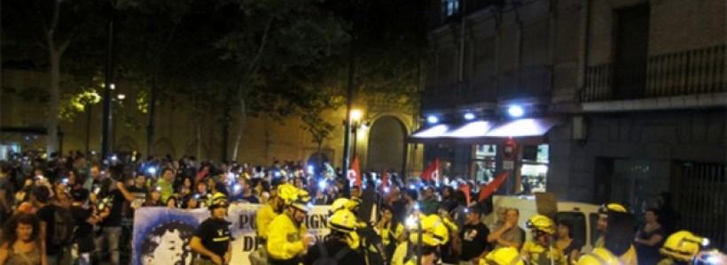 marcha negra unificación luchas
