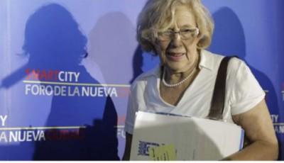Carmena ahonda en el abandono del programa electoral