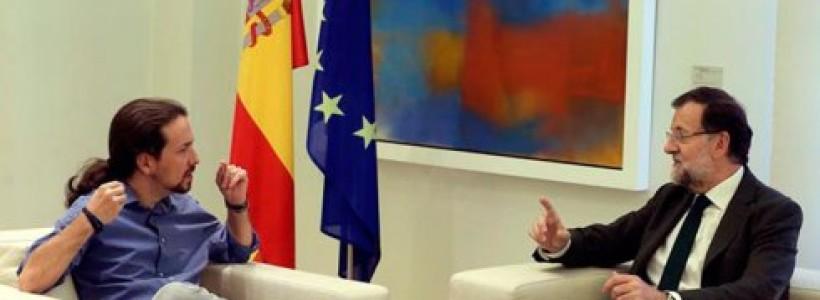 Pablo Iglesias y Albert Rivera en la Moncloa: pactos de Estado y espíritu de regeneración