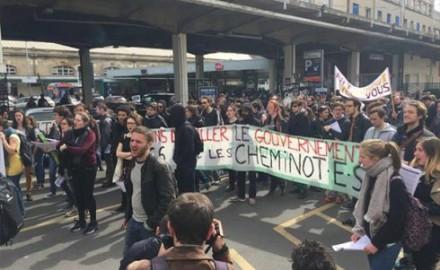 Estudiantes, trabajadores, movimiento Nuit Debout: la convergencia de las luchas avanza en París