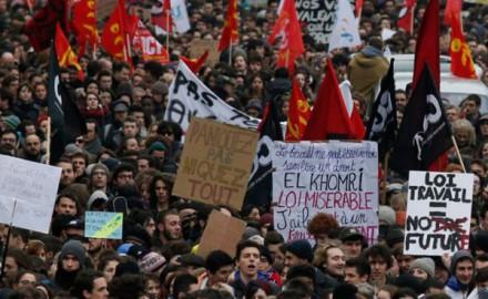 Francia: ampliar y fortalecer la movilización para derrotar al gobierno y su ley