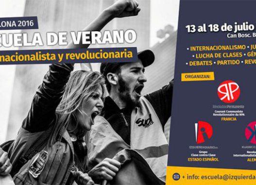 Escuela de Verano Internacionalista y Revolucionaria