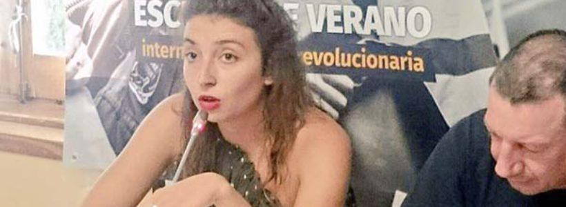 """Elsa, estudiante París 1: """"En Francia emergió una nueva generación juvenil combativa"""""""