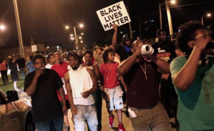 Protestas en Milwaukee contra la brutalidad policial