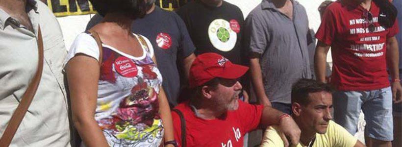 Absueltos dos trabajadores de Coca cola: la lucha es el único camino