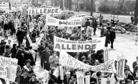 Unidad Popular, Cordones Industriales y el golpe de Estado