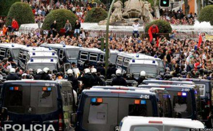"""Contra la """"democracia blindada"""" del Ibex35, retomar la movilización en las calles"""