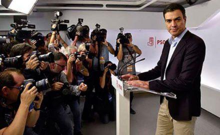PSOE: Adiós señor Sánchez, bienvenido señor Rajoy