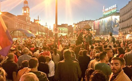 [VIDEOS] Una marea humana rechaza la investidura de Rajoy en Madrid