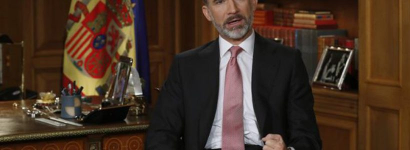 """Felipe VI reivindica el gobierno de """"gran coalición"""", la ofensiva españolista y la impunidad de la Transición"""