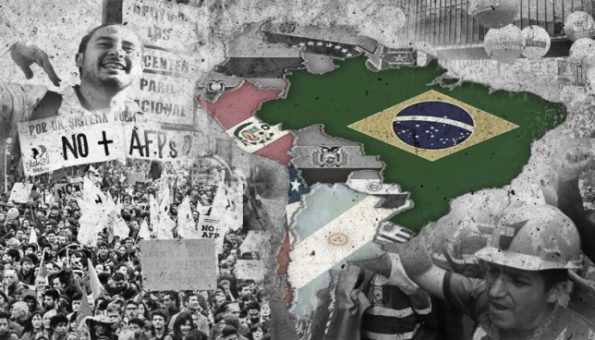 La clase obrera empieza a pelear en Sudamérica